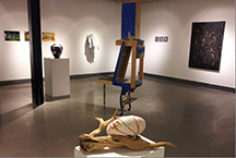 WVC art faculty exhibition image