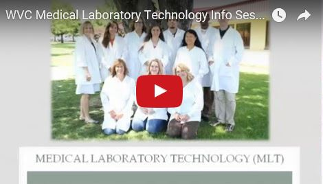 WVC Medical Lab Technology info session video
