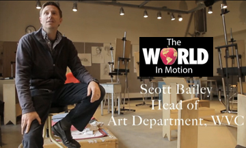 Scott Bailey in the World in Motion video