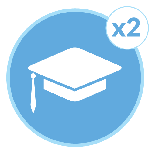 Earn Your College Degree Icon