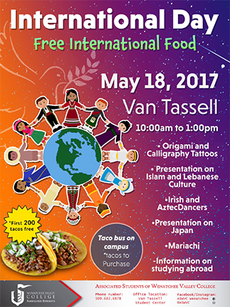 International Day flier image