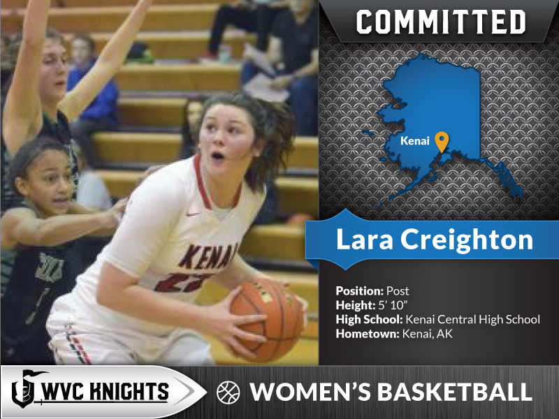 Lara Creighton commits to WVC women's basketball