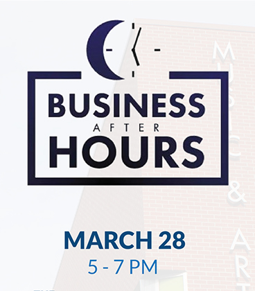 Business After Hours networking at the MAC March 28