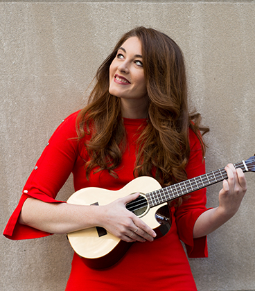 Mandy Harvey, singer-songwriter with a hearing impairment, to perform and speak at The Grove