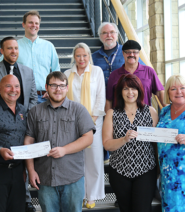 Two students receive RLS Productions scholarships