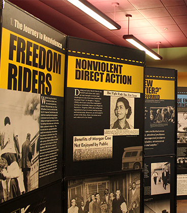 Freedom Riders exhibit on display at WVC through March 9
