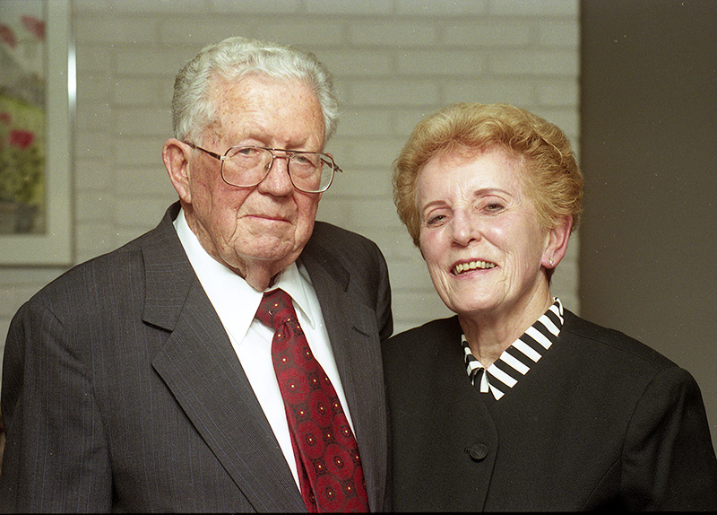 Jack and Edna Maguire