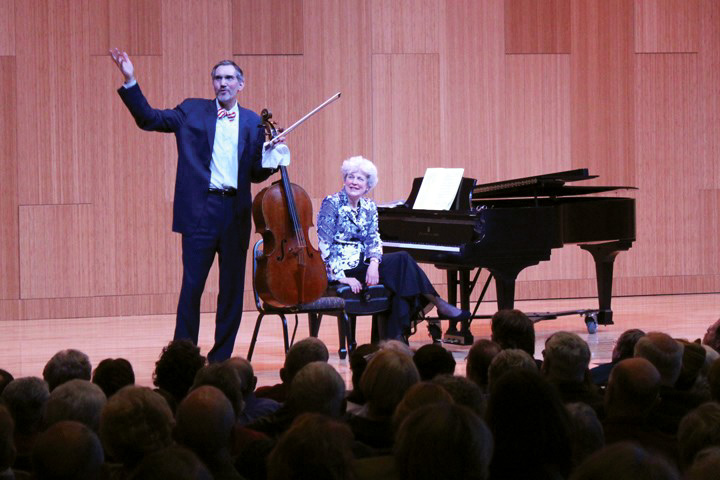 The Piatigorsky Foundation concert