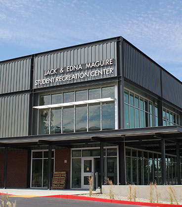 Student Recreation Center ribbon cutting Sept. 22